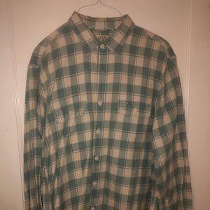 J Crew button down shirt - size large